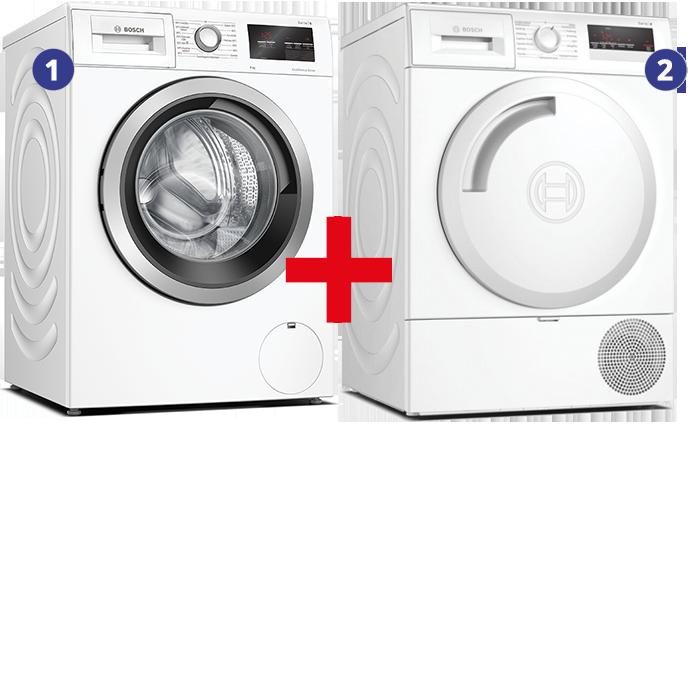 Bosch Wasmachine + Condensdroger