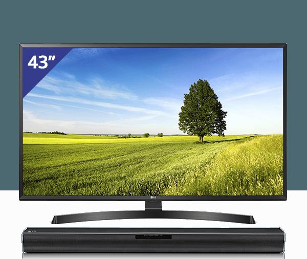 LG TV + Soundbar