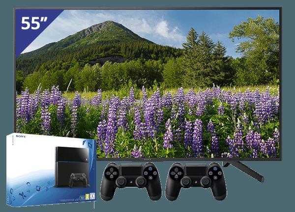 Sony 55 TV + PlayStation 4