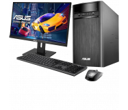 Asus Desktop PC met 24'' Monitor
