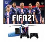 LG 43 inch/109 cm UHD 4K TV + Playstation 4