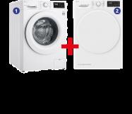 LG Wasmachine + Wasdroger