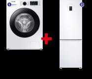 Samsung Wasmachine + Koelvriescombinatie