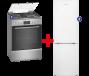 Bosch Fornuis + Samsung Koelvriescombinatie