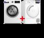 Bosch Wasmachine + Wasdroger