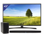 LG 43 inch/109 cm Ultra HD LED TV + HEOS Home Cinema