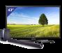 LG 43 inch/109 cm UHD LED TV + 2.1 Soundbar