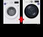 LG Wasmachine & Wasdroger 9 kg