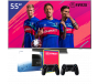 Philips 55 inch/140 cm LED TV + Sony Playstation 4
