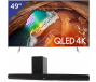 Samsung 49 inch/124 cm QLED TV + HEOS HS2 Home Cinema