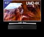 Samsung 43 inch/109 cm LED TV + Samsung Soundbar