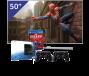 Samsung 50 inch/127 cm LED TV + Sony PlayStation 4