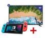 Samsung 55 inch/140 cm LED TV + Nintendo Switch