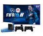 Samsung 55 inch/140 cm Ultra LED TV  + Sony Playstation 4