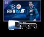 Samsung 55 inch/140 cm LED TV + Sony PlayStation 4