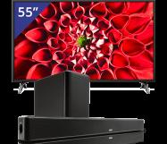LG 55 inch/140 cm LED TV + Denon soundbar