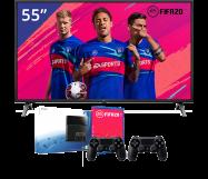 LG 55 inch/140 cm LED TV + Sony Playstation 4