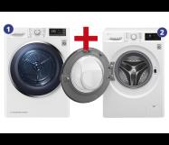 LG Wasmachine & Wasdroger 8 kg