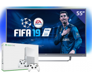 Philips 55 inch/140 cm LED TV + Xbox One