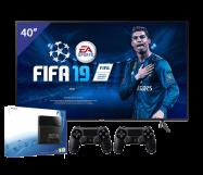 Samsung 40 inch Ultra HD LED TV + PlayStation 4