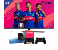 Samsung 43 inch/109 cm UHD 4K TV + Sony PlayStation 4
