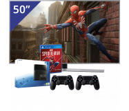 Samsung 50 inch/127 cm LED TV + Sony PlayStation 4