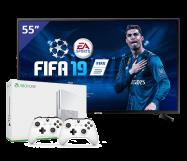 Samsung 55 inch/140 cm LED TV + Xbox One