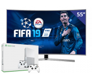 Samsung 55 inch/140 cm Ultra LED TV + Xbox One