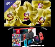 Sony 49 inch/124 cm LED TV + Nintendo Switch