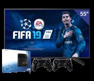 Sony 55 inch/140 cm LED TV + PlayStation 4