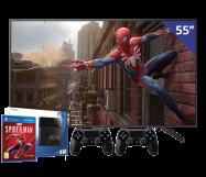 Sony 55 inch/140 cm LED TV + Sony Playstation 4