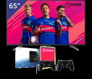 Sony 65 inch/165 cm LED TV + Playstation 4