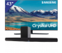 Samsung 43 inch/109 cm UHD 4K TV + Denon Soundbar + subwoofer