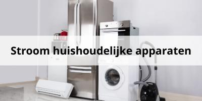 Zoveel stroom gebruiken jouw huishoudelijke apparaten