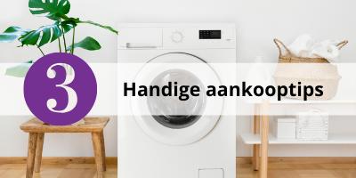 Wasmachine kopen? Check dan eerst deze handige tips