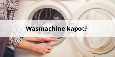Wasmachine kapot? Zo doe je zelf de reparatie van je wasmachine