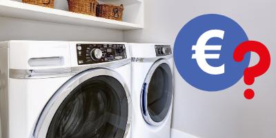 Wat kosten huishoudelijke apparaten per keer?